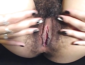 HD Lock Conditions My Hairy Rock hard Thick Pink flaps