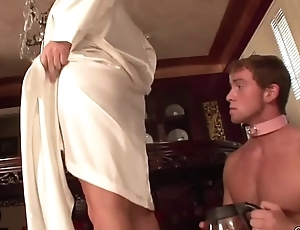 Cuckold Ass Worship/Double Mistress Boot Marvel at