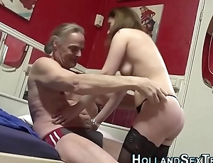 Mature prossie pounded